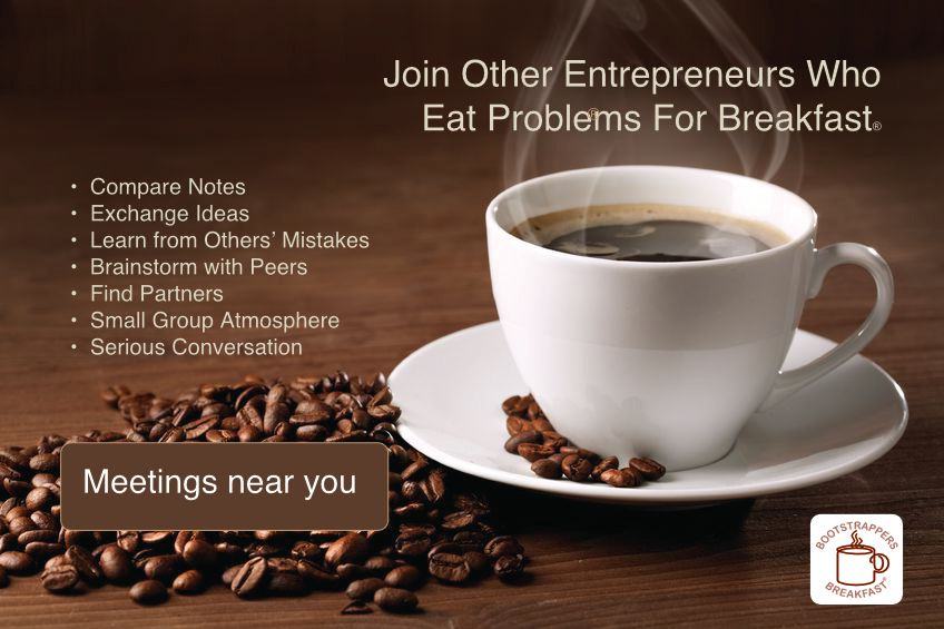 Bootstrappers Breakfast for San Francisco Startups