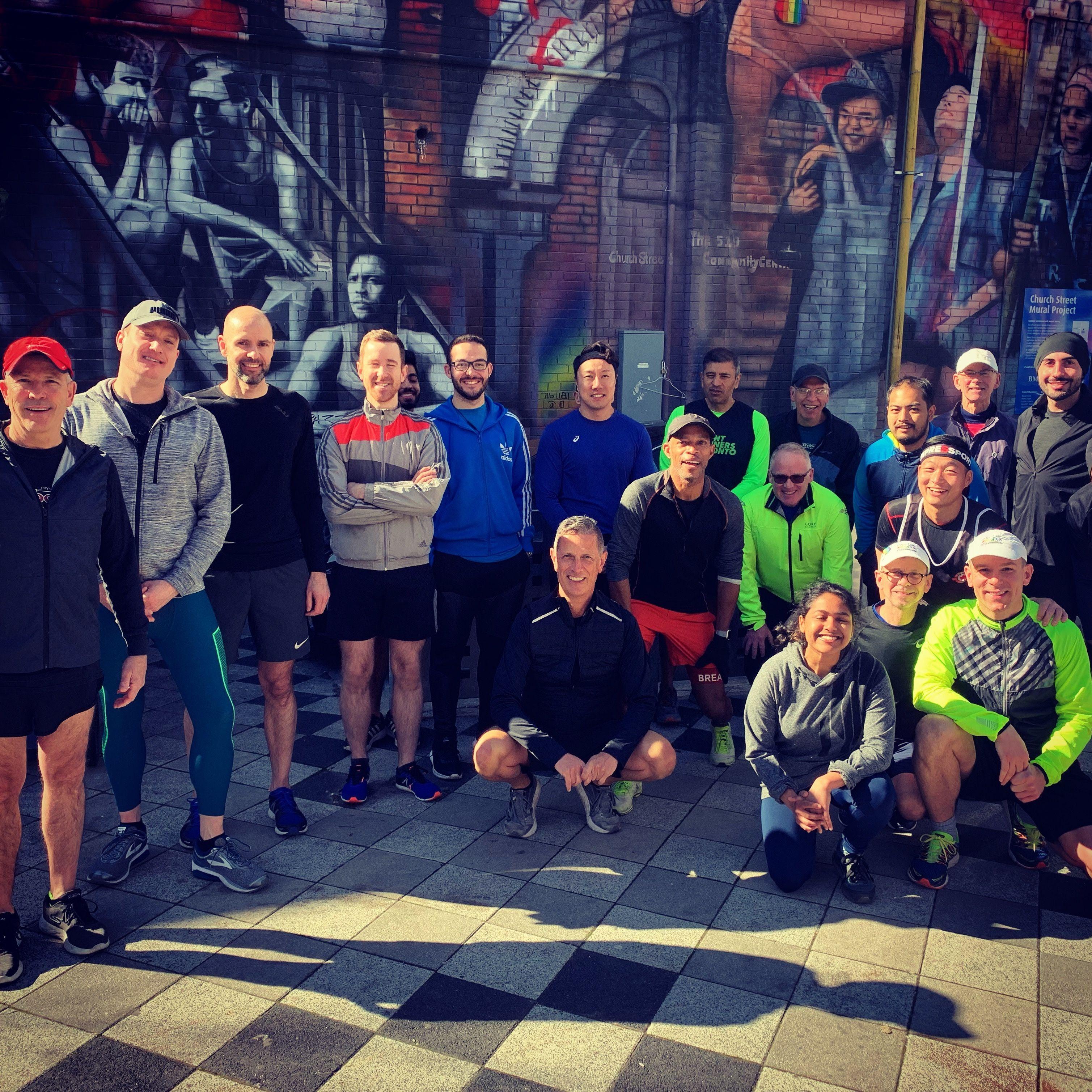Run with Frontrunners Toronto LGBT+ Social Running Club