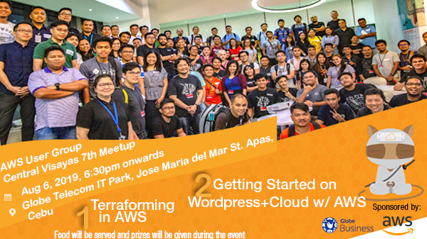 AWS User Group Central Visayas - 7th Meetup | Meetup