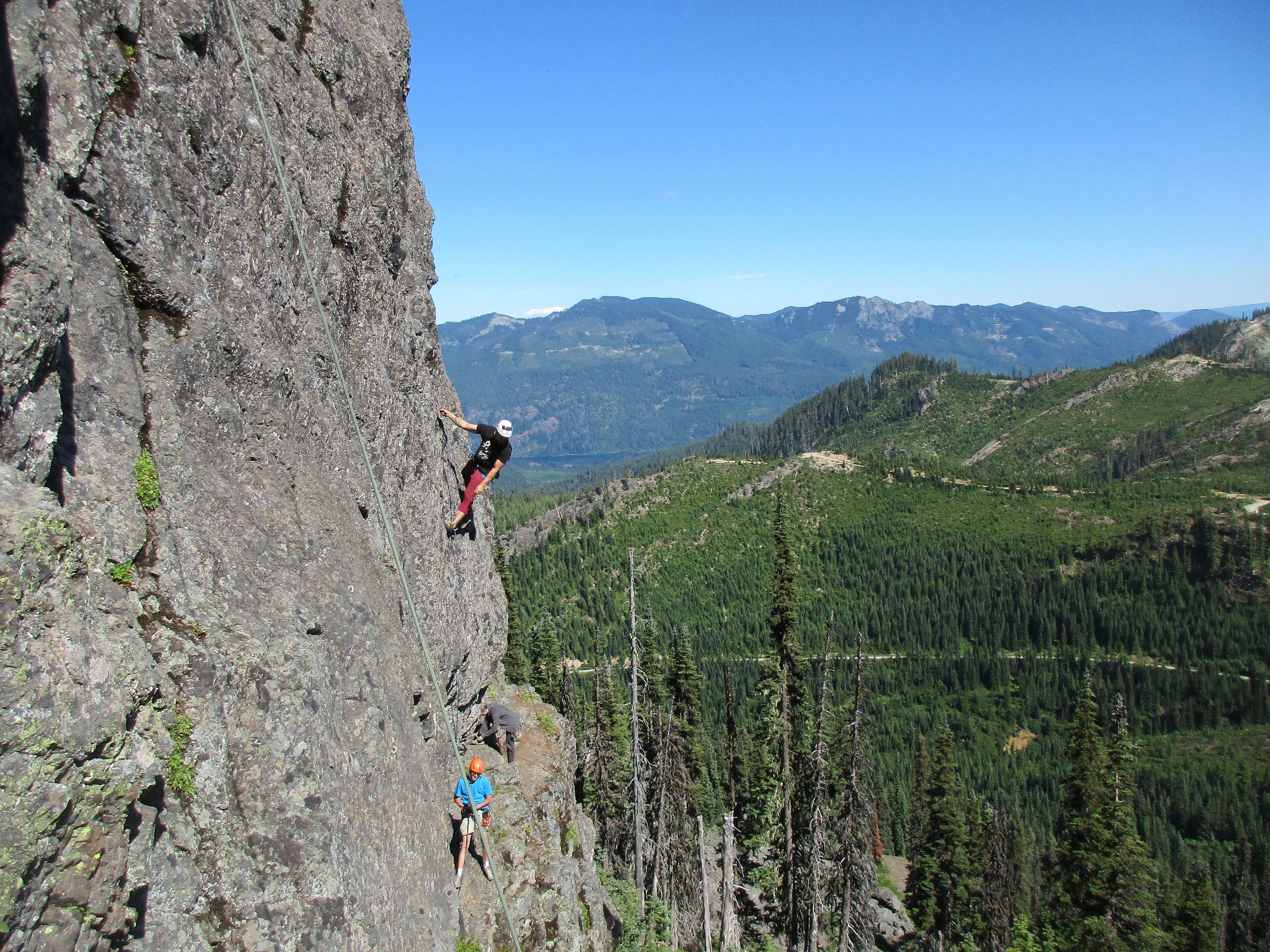 Seattle Climbing