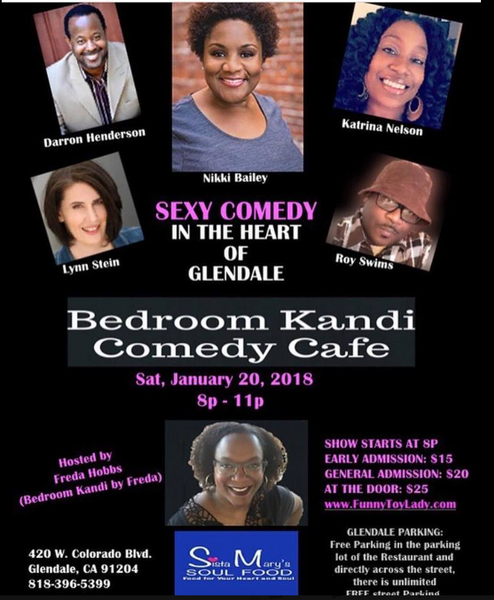 Laugh all night at the Bedroom Kandi Comedy Cafe | Meetup