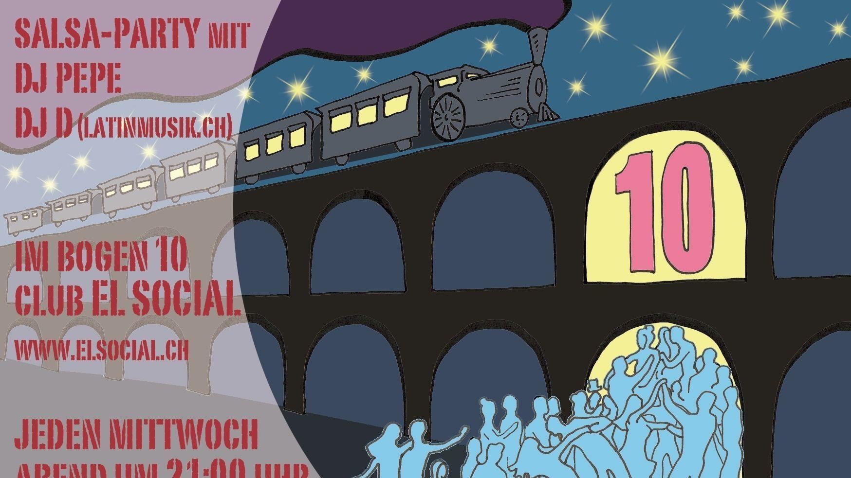 Salsamoods @ el Social im Viadukt