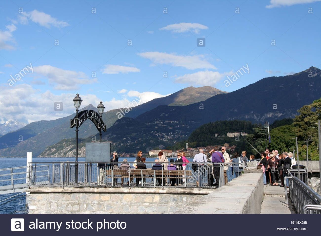 Lake Como - walking in Italy