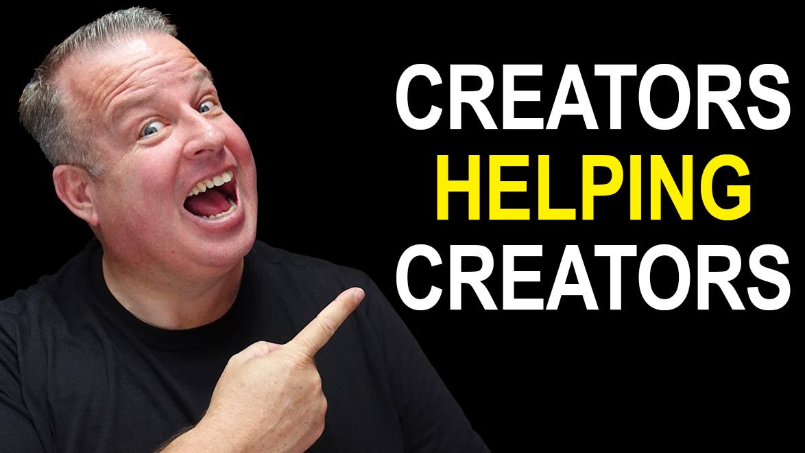 Derral Eves' Creators Helping Creators Meetups