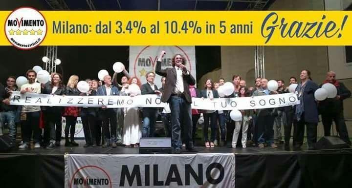 Gli amici di Beppe Grillo di Milano