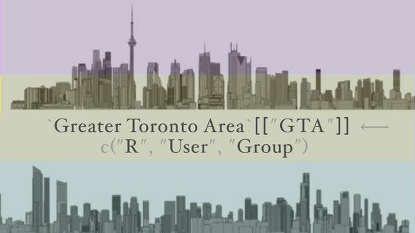 Greater Toronto Area (GTA) R User Group (Toronto, ON) | Meetup