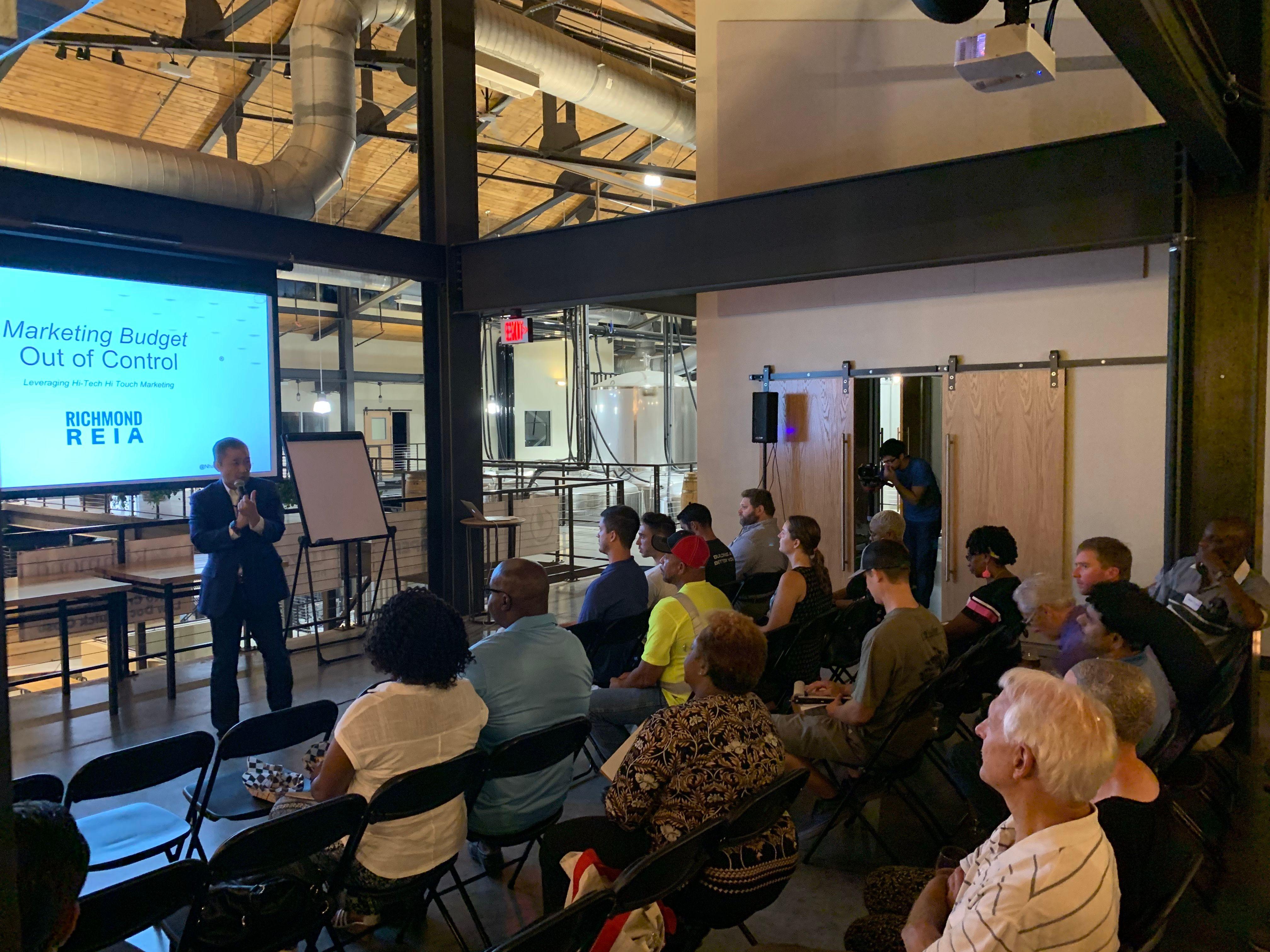 Deal Maker Session, Richmond REIA & Investors Group