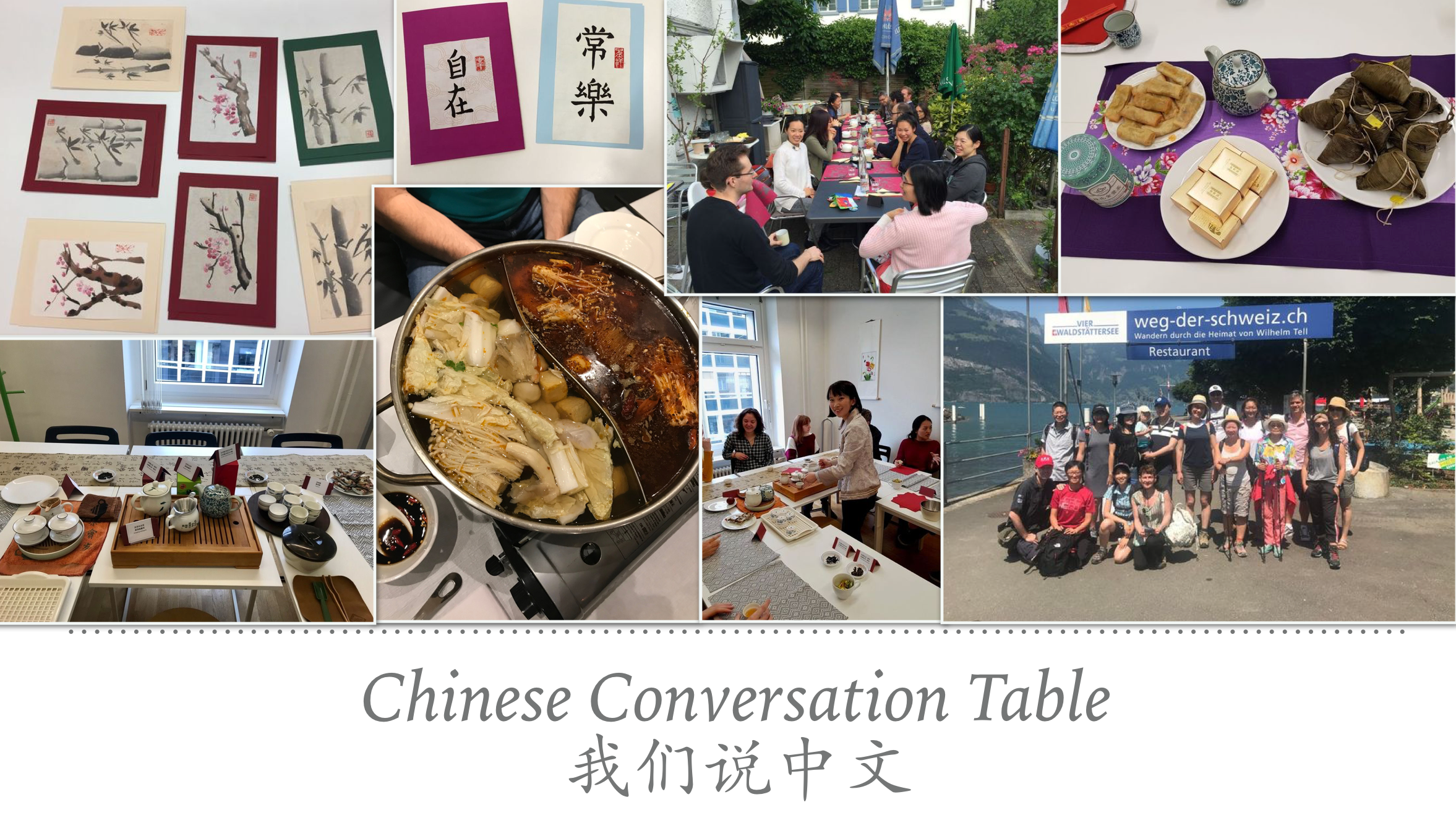 Chinese Conversation Table