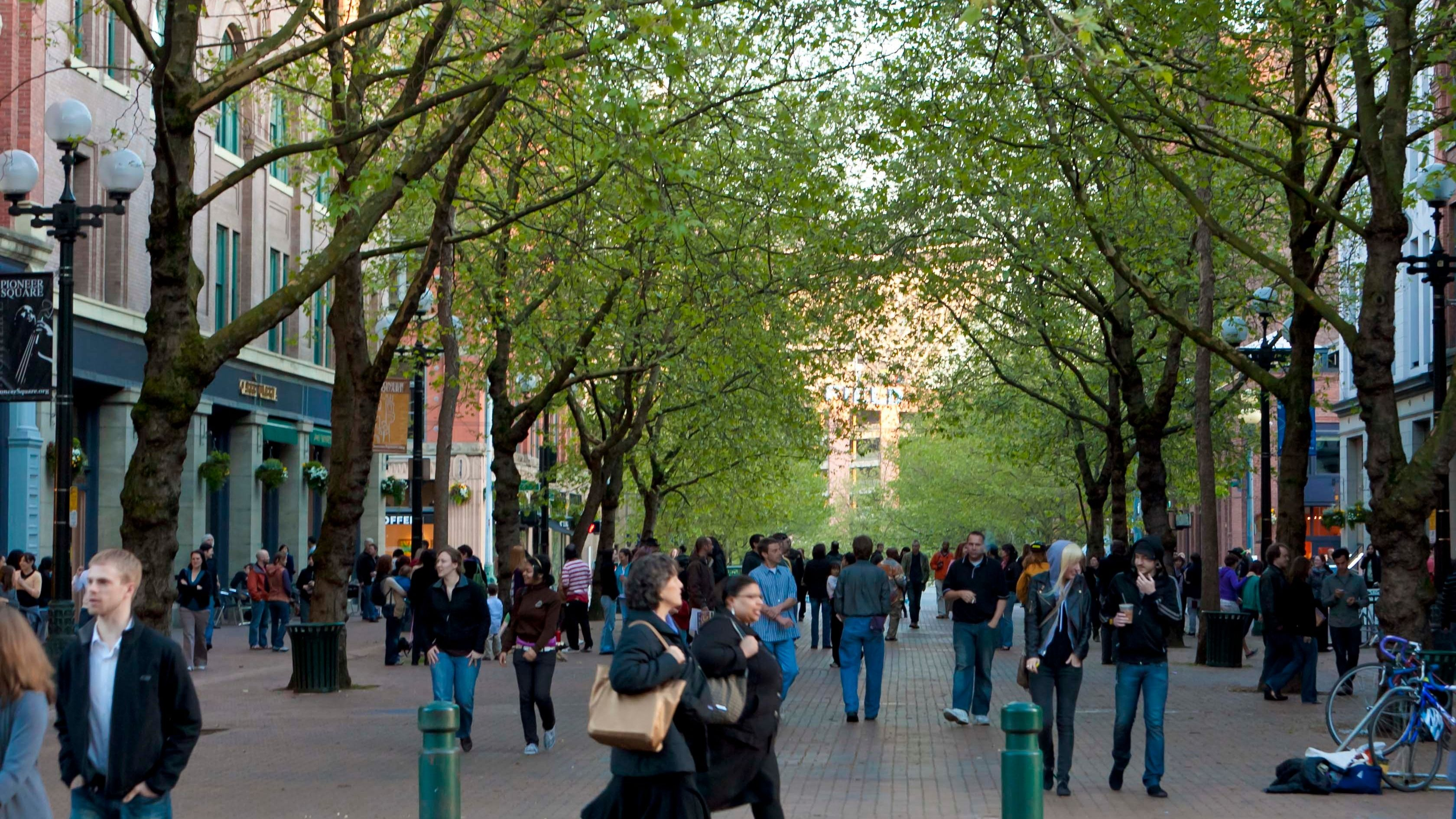 Occidental Square Park Seattle Wa Meetup