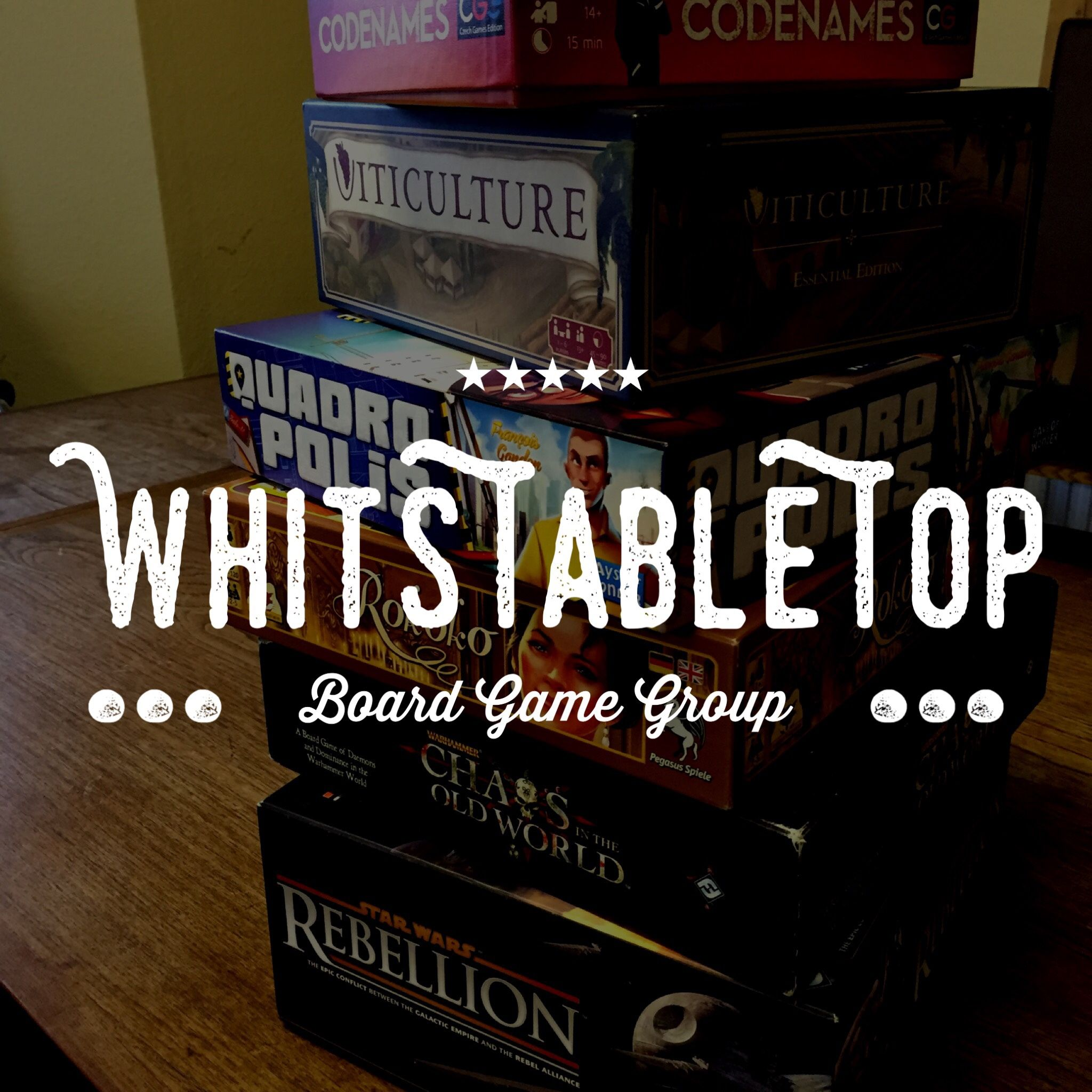 WhitsTableTop - Canterbury & Whitstable Board Game Group