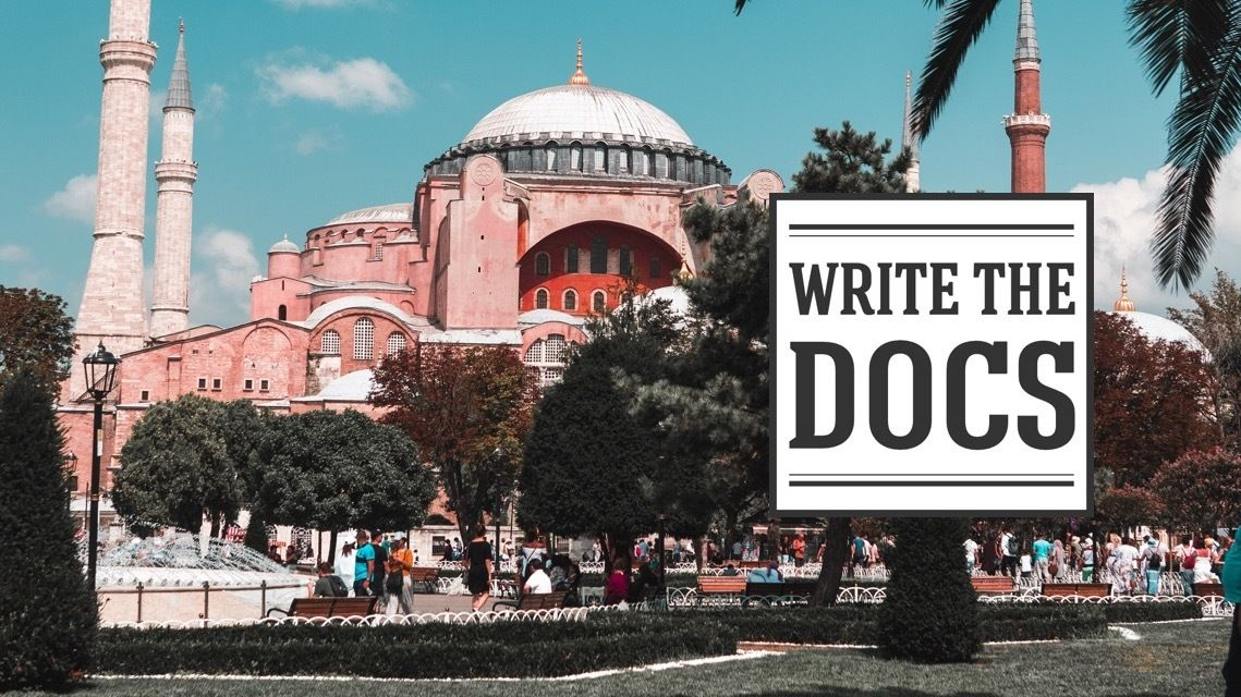 Write the Docs İstanbul
