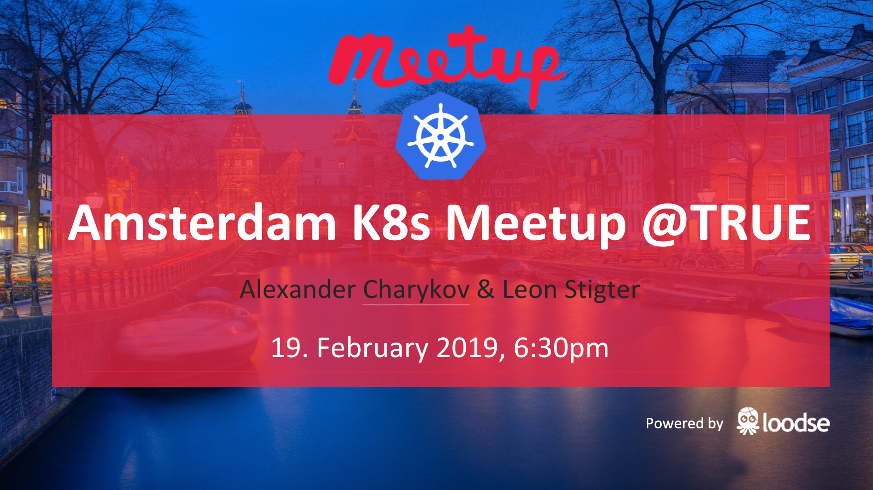 K8s Meetup Amsterdam: Building a K8s Powered Go Modules Repository