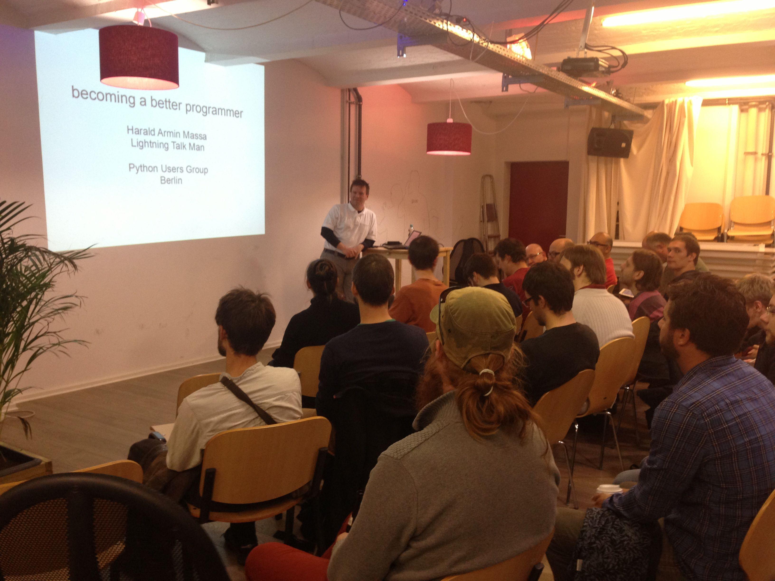 Python Users Berlin (PUB)