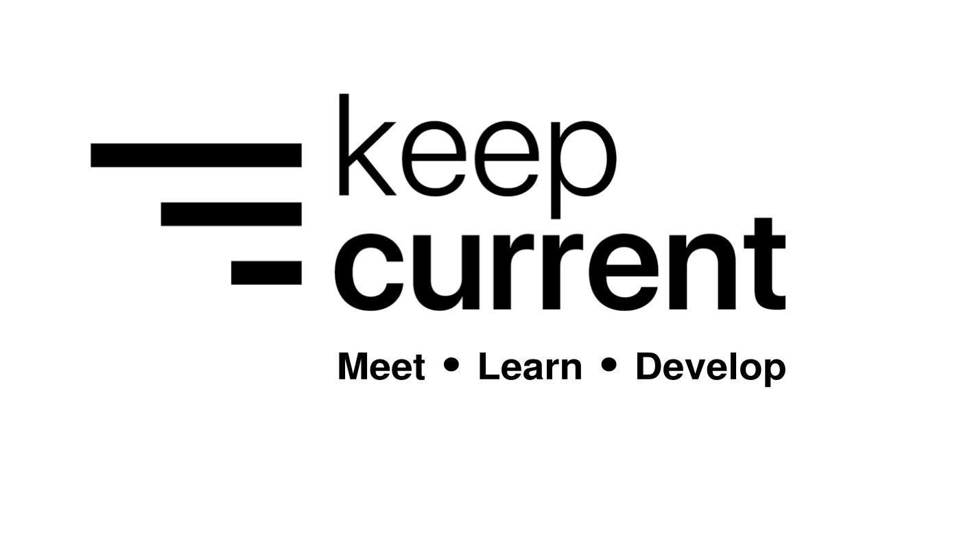 Keep-Current Meetup