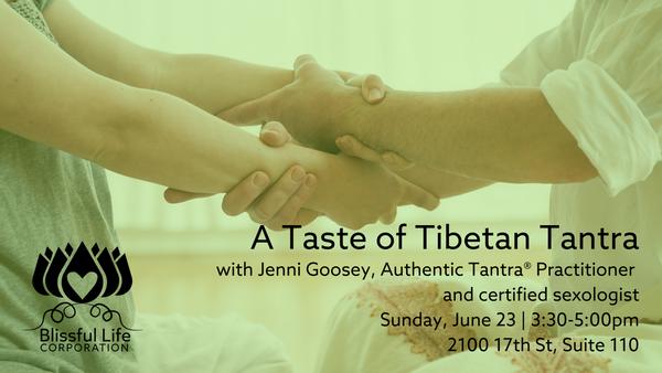 A Taste of Tibetan Tantra