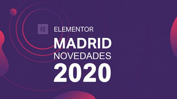 Novedades Elementor en 2020 - event image