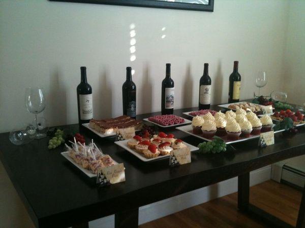 Dessert Tasting & Wine Reception