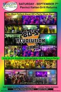 Photo for The Outstanding 80's Revolution Band is back at Pavinci's ??? September 7 2019