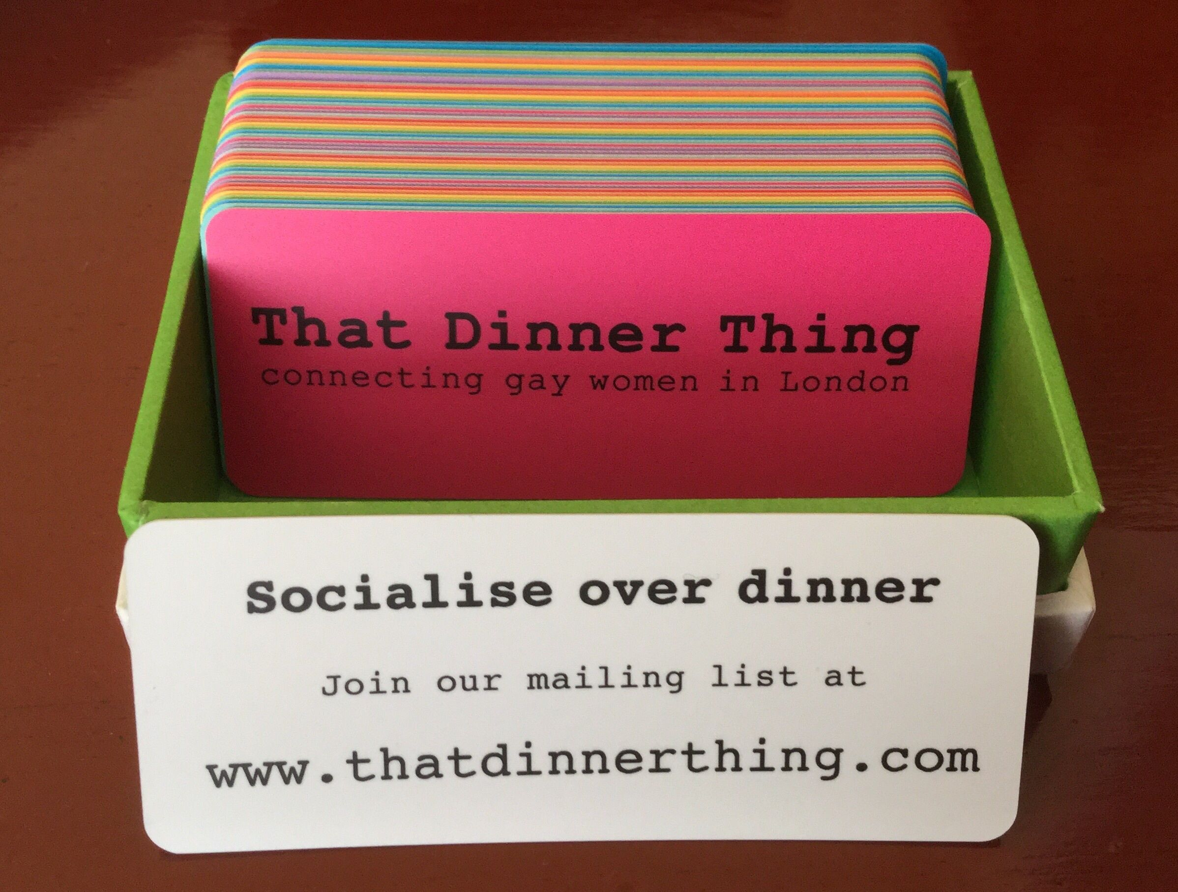 That Dinner Thing - connecting gay women in London