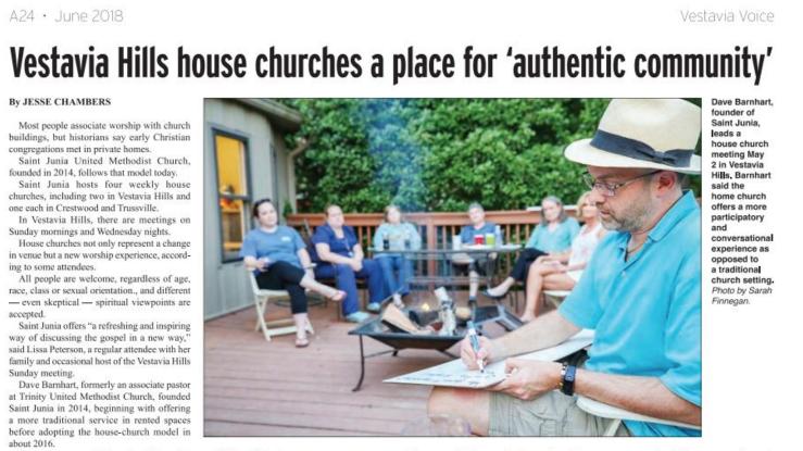 Saint Junia House Church Network