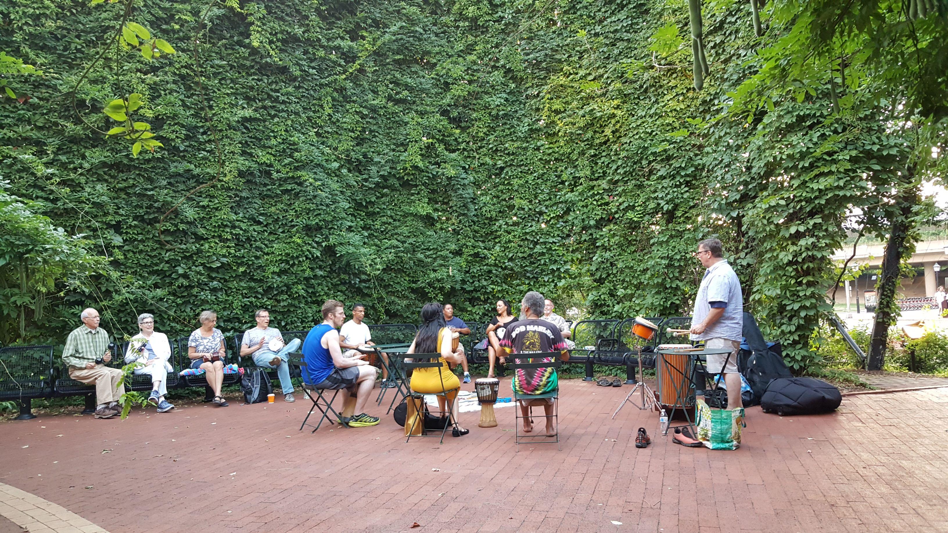 The Alexandria/Fairfax Drummers (NoVa Drum Circle)