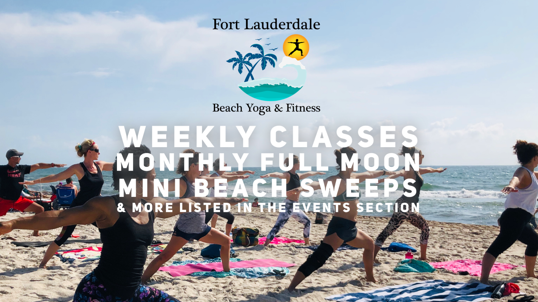 Fort Lauderdale Beach Yoga, Meditation & Fitness by Donation