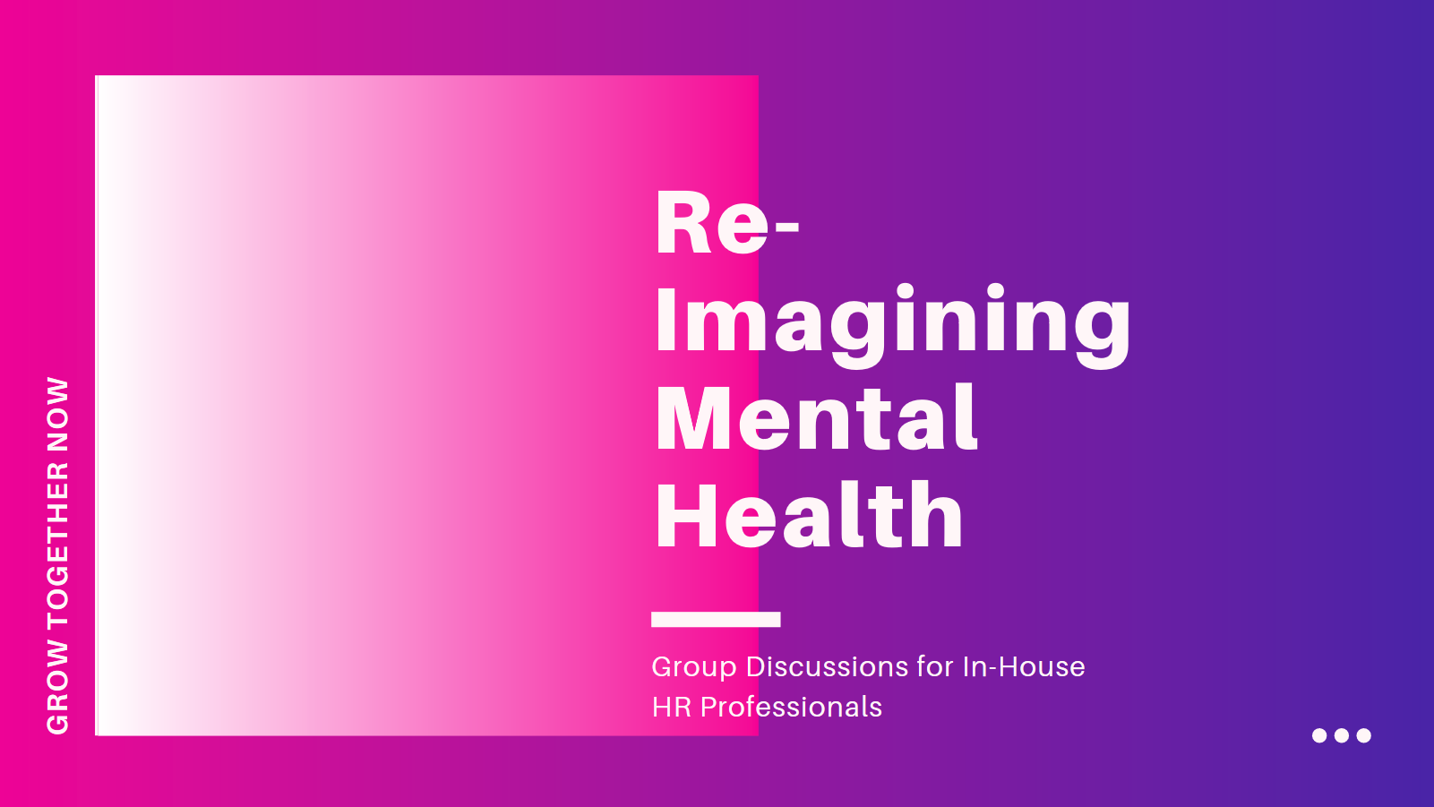 Mental Health Advocates for In-House Human Resources