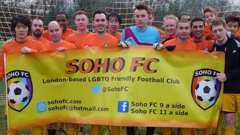 Soho FC LGBT Gay football club