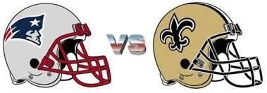 Image result for New England Patriots vs. New Orleans Saints