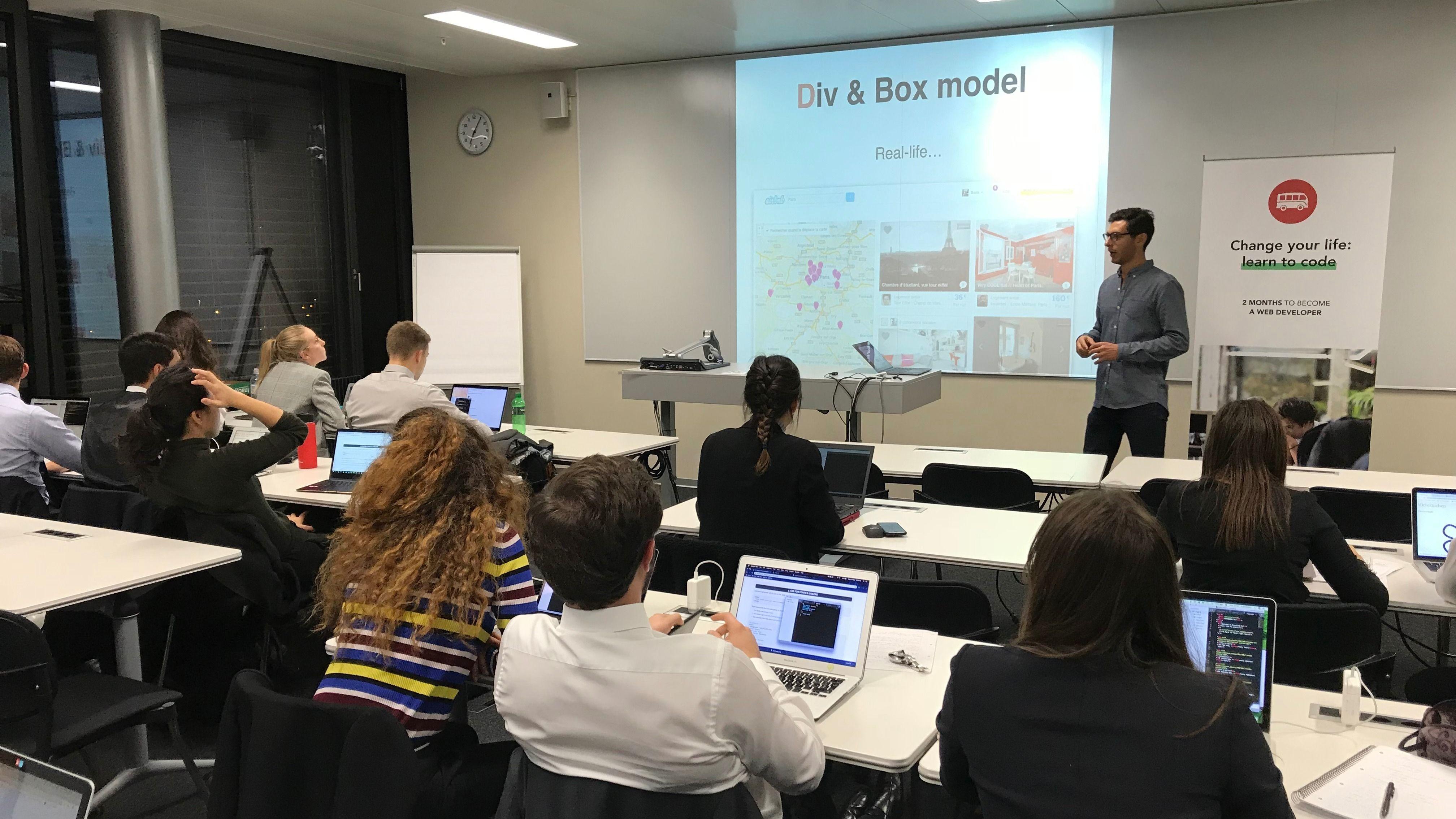 Le Wagon Lausanne - Coding Bootcamp