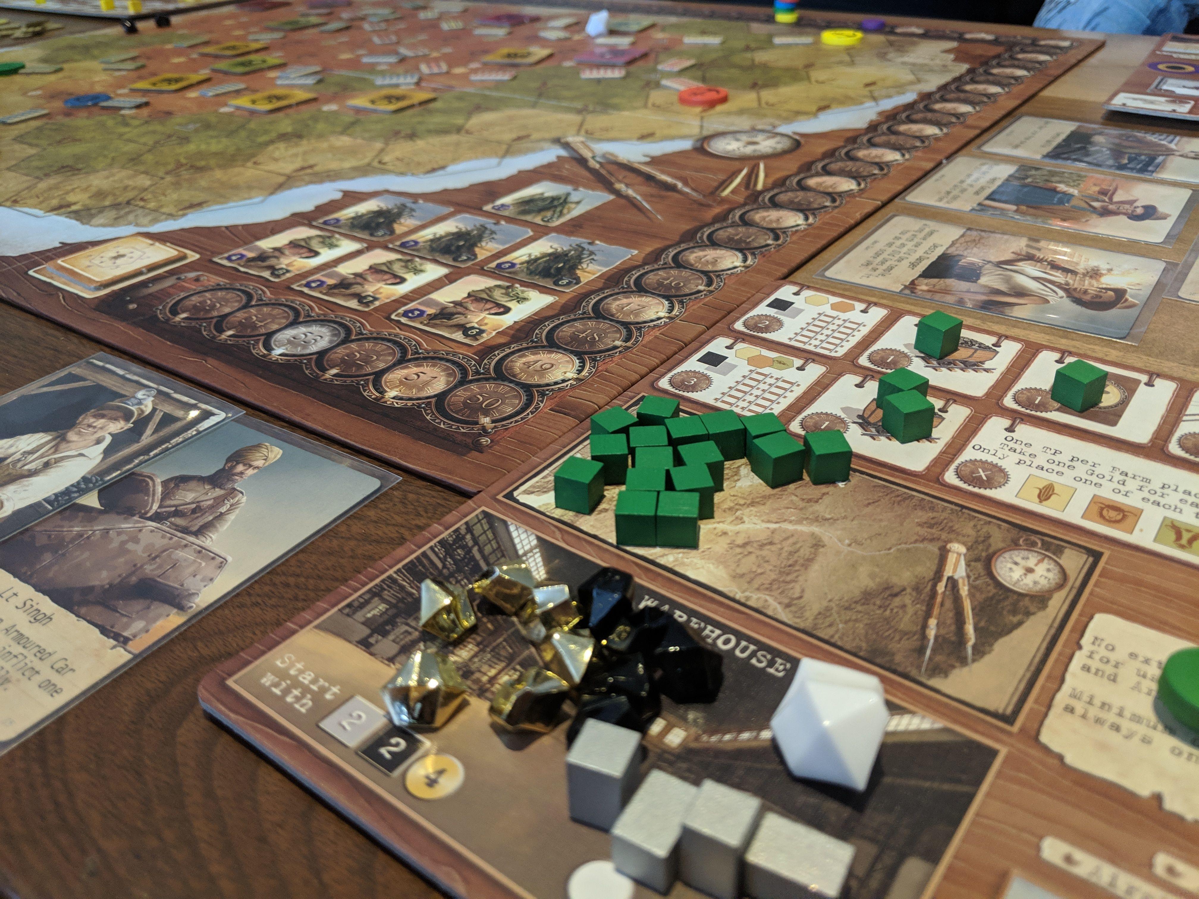Come play board games about building Civiliza