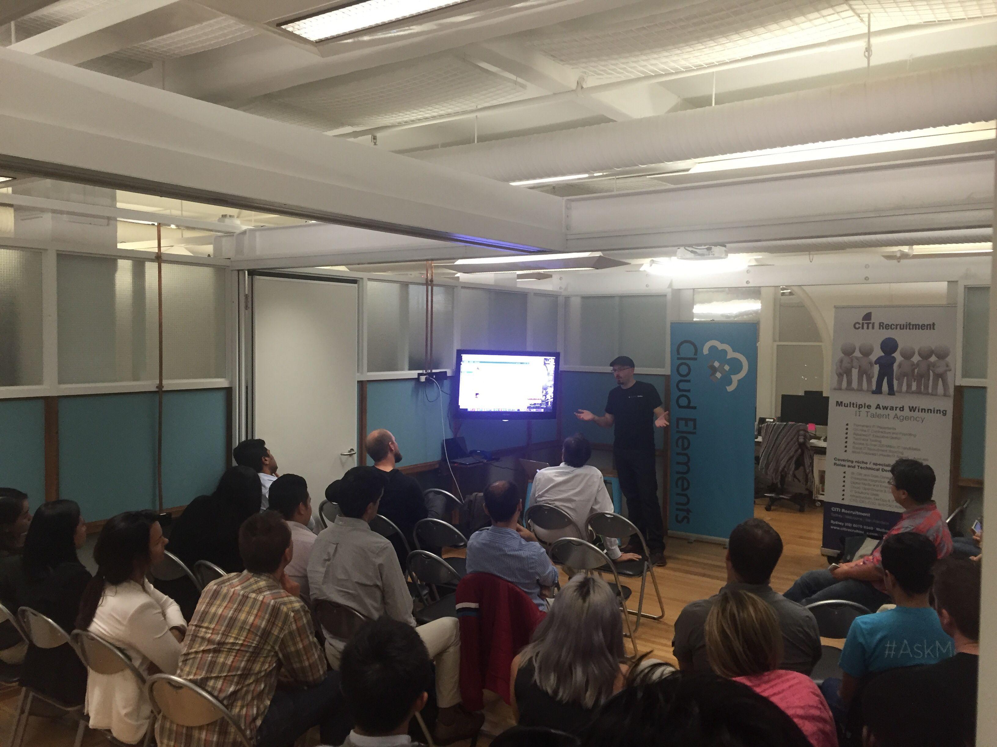 That API Meetup: REST, Cloud Integrations & SaaS :Sydney, AU