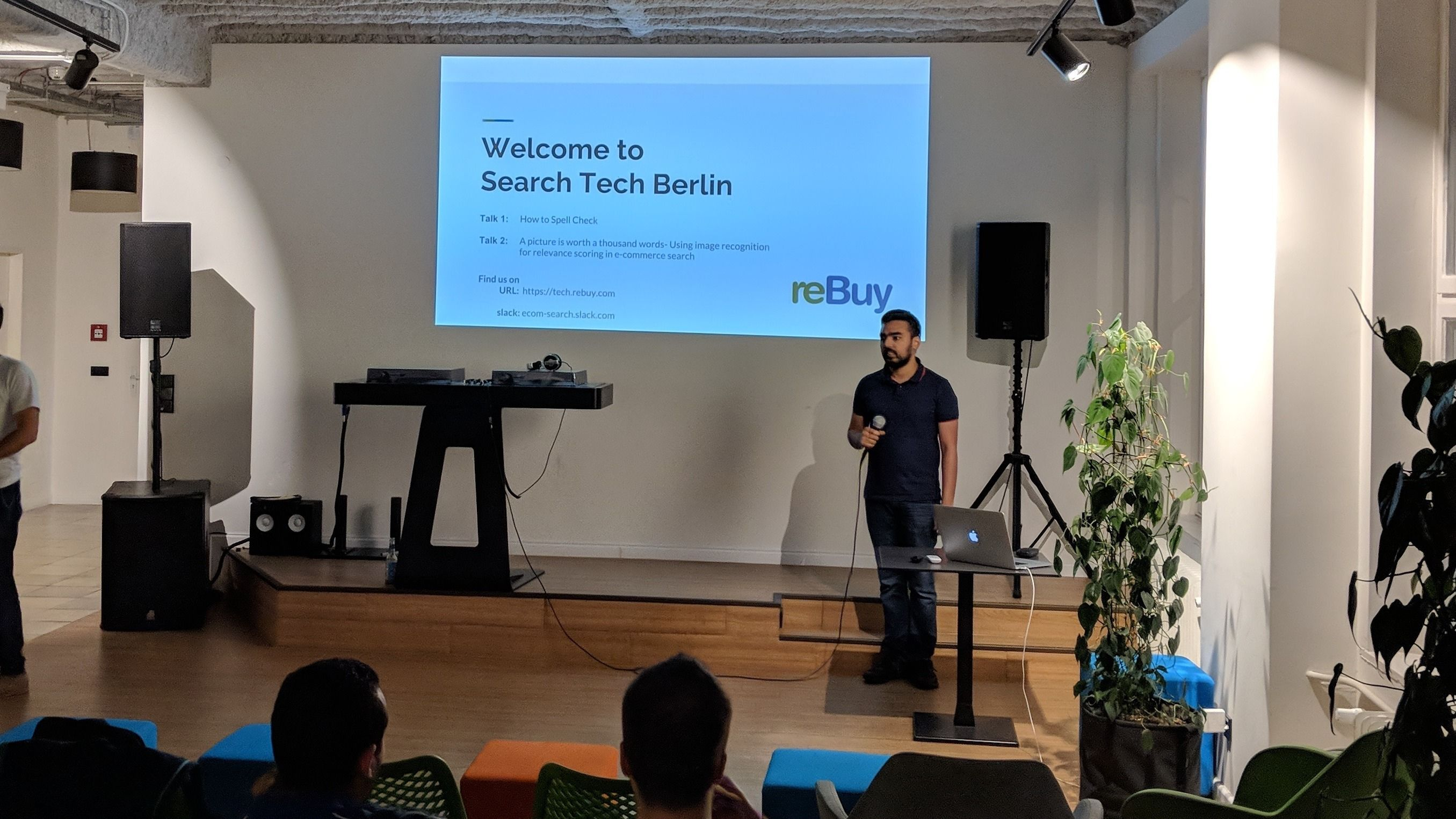 Search Technology Meetup, Berlin