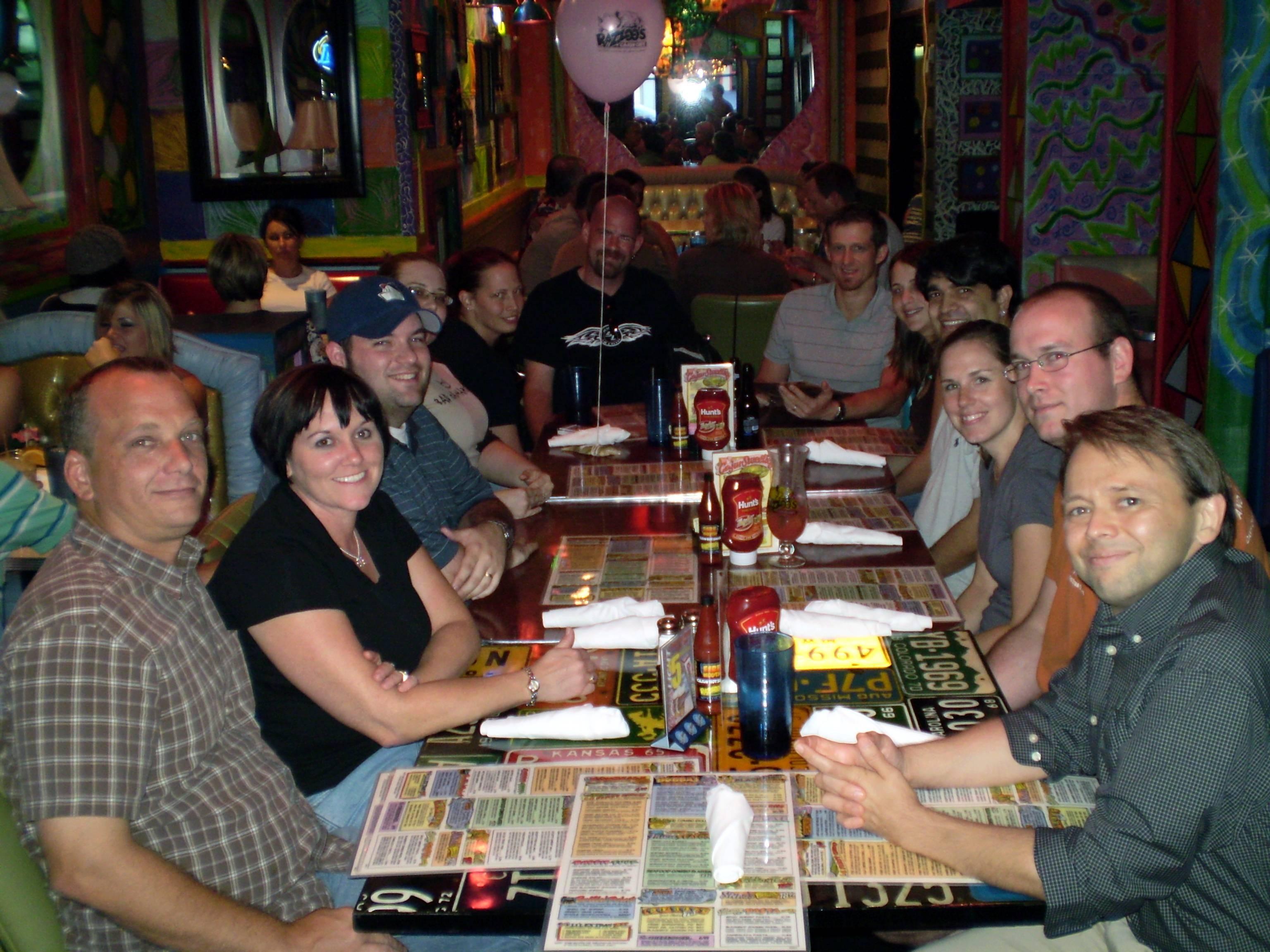 Dinner across Fort Worth: Red Robin Gourmet Burgers & Brews