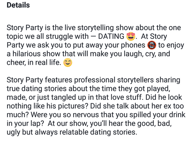 hilarious dating stories how to talk to a girl before dating