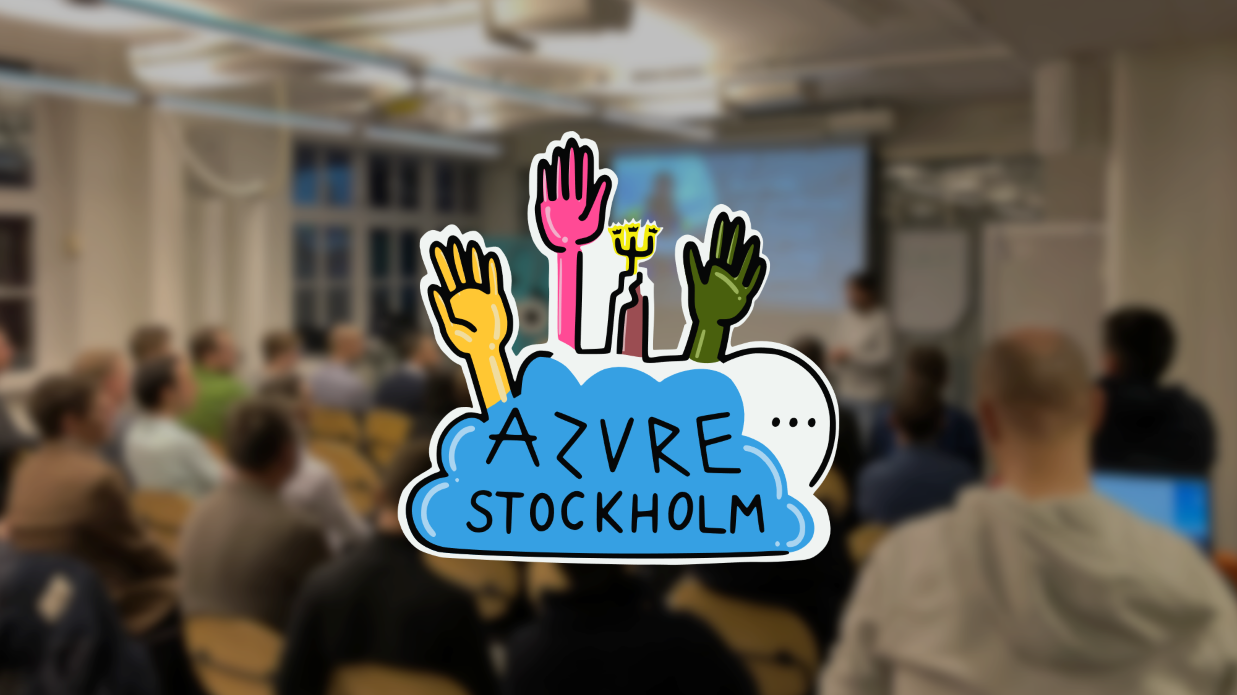 Stockholm Azure Meetup