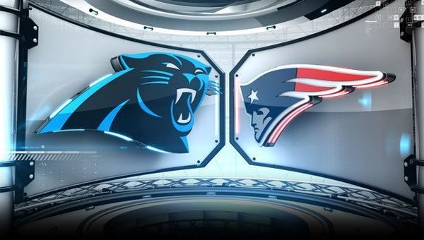 Image result for Carolina Panthers vs. New England Patriots