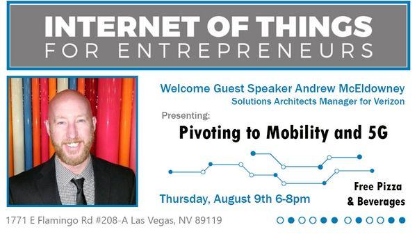 Welcome Guest Speaker Andrew McEldowney, Solutions ...