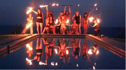 Virtual Fire Dancing Classes ~ Learn from your home