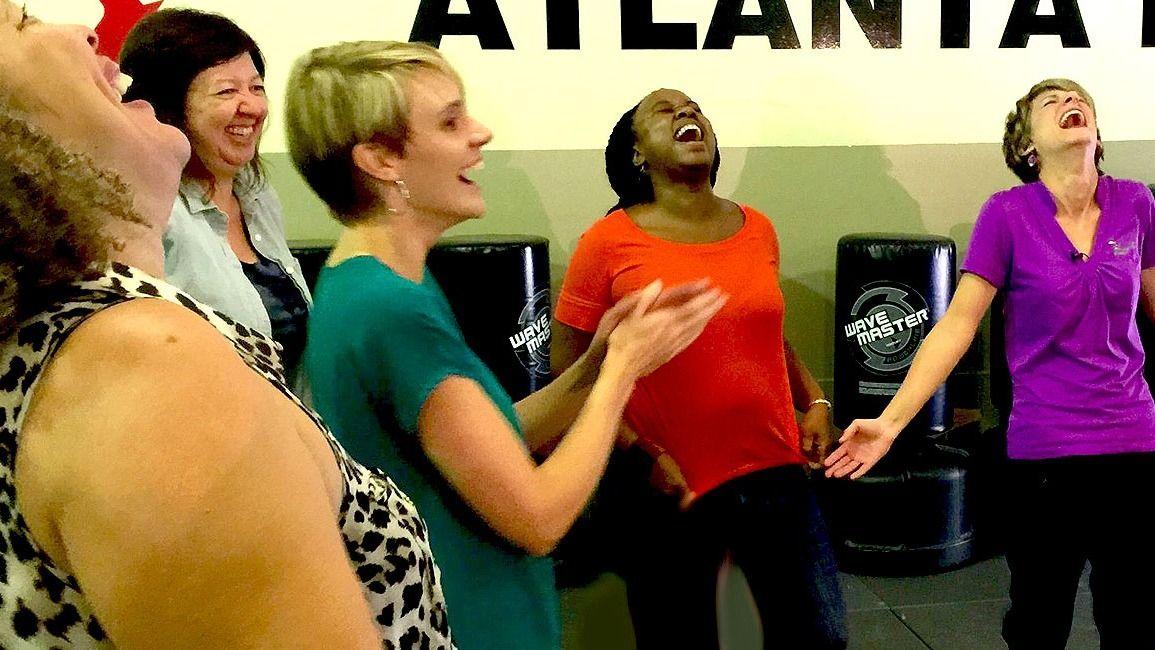 Laughter Yoga Atlanta Free Laughter Yoga!