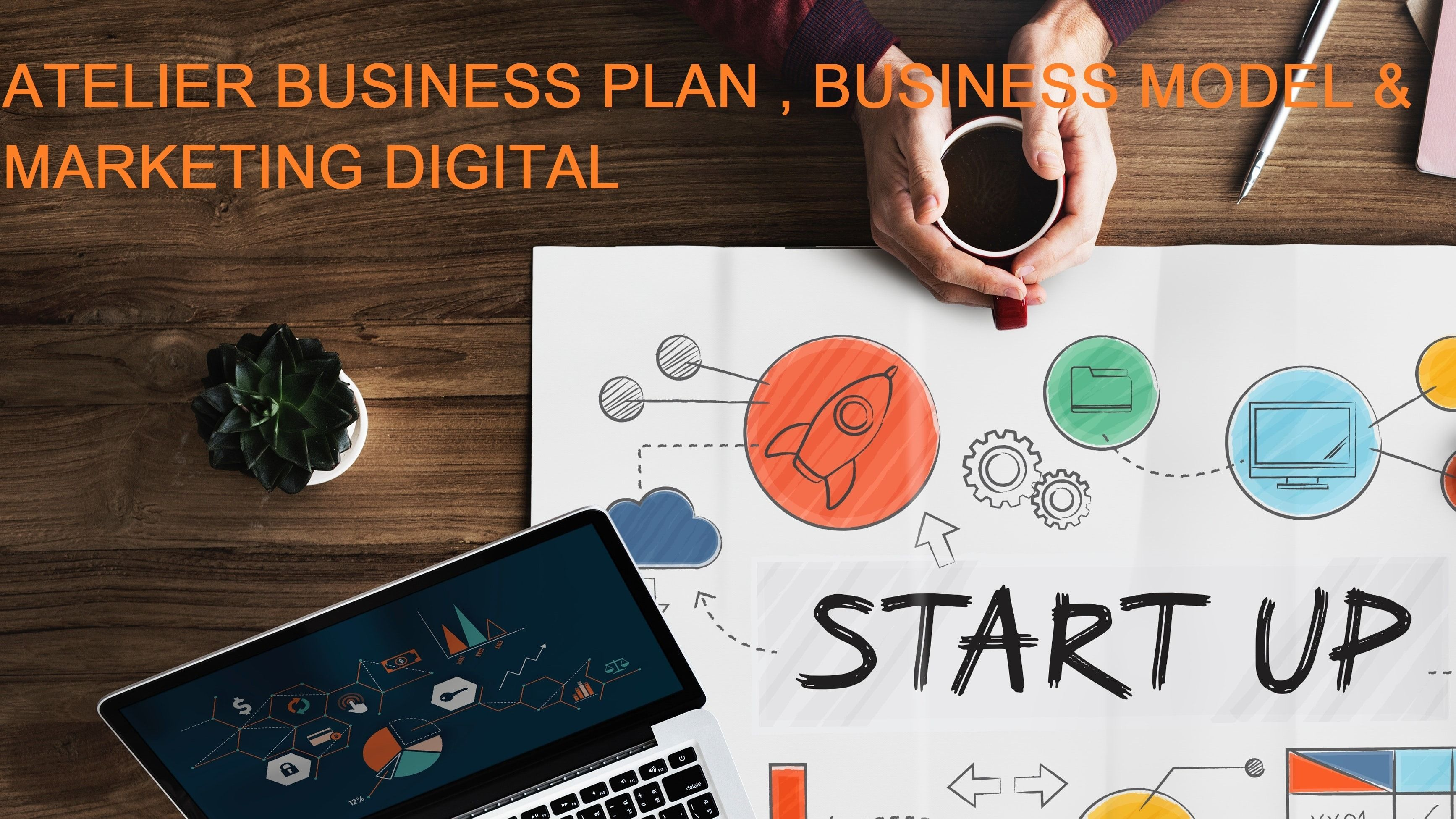 Atelier Business Plan,Business Model & Marketing Digital
