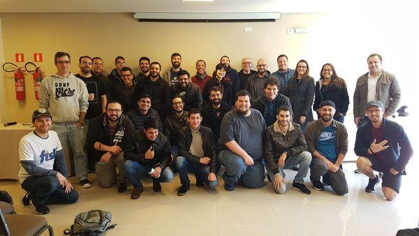 Pythonistas curitibanos reunidos