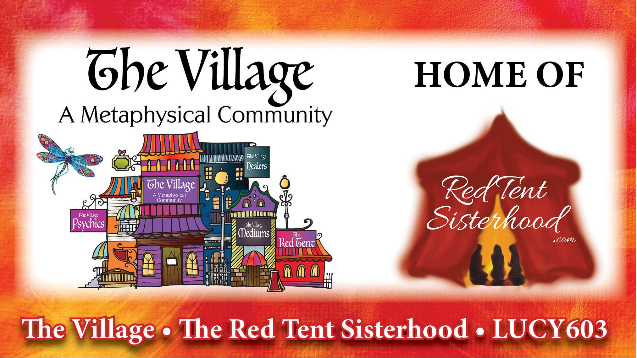 """The Village"" & Red Tent * Psychics * Mediums * Healers *"