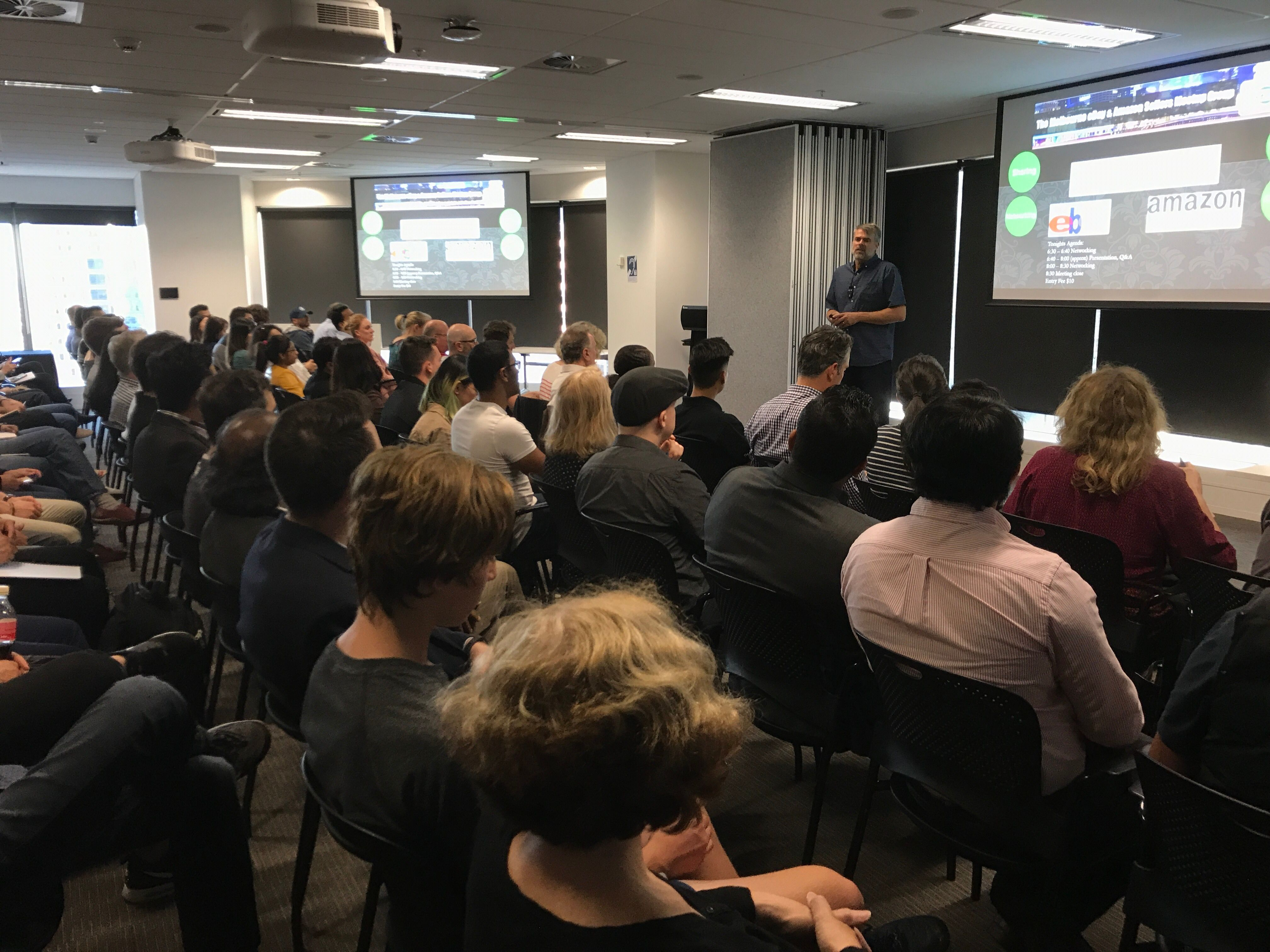 The Melbourne eBay & Amazon Sellers Meetup Group