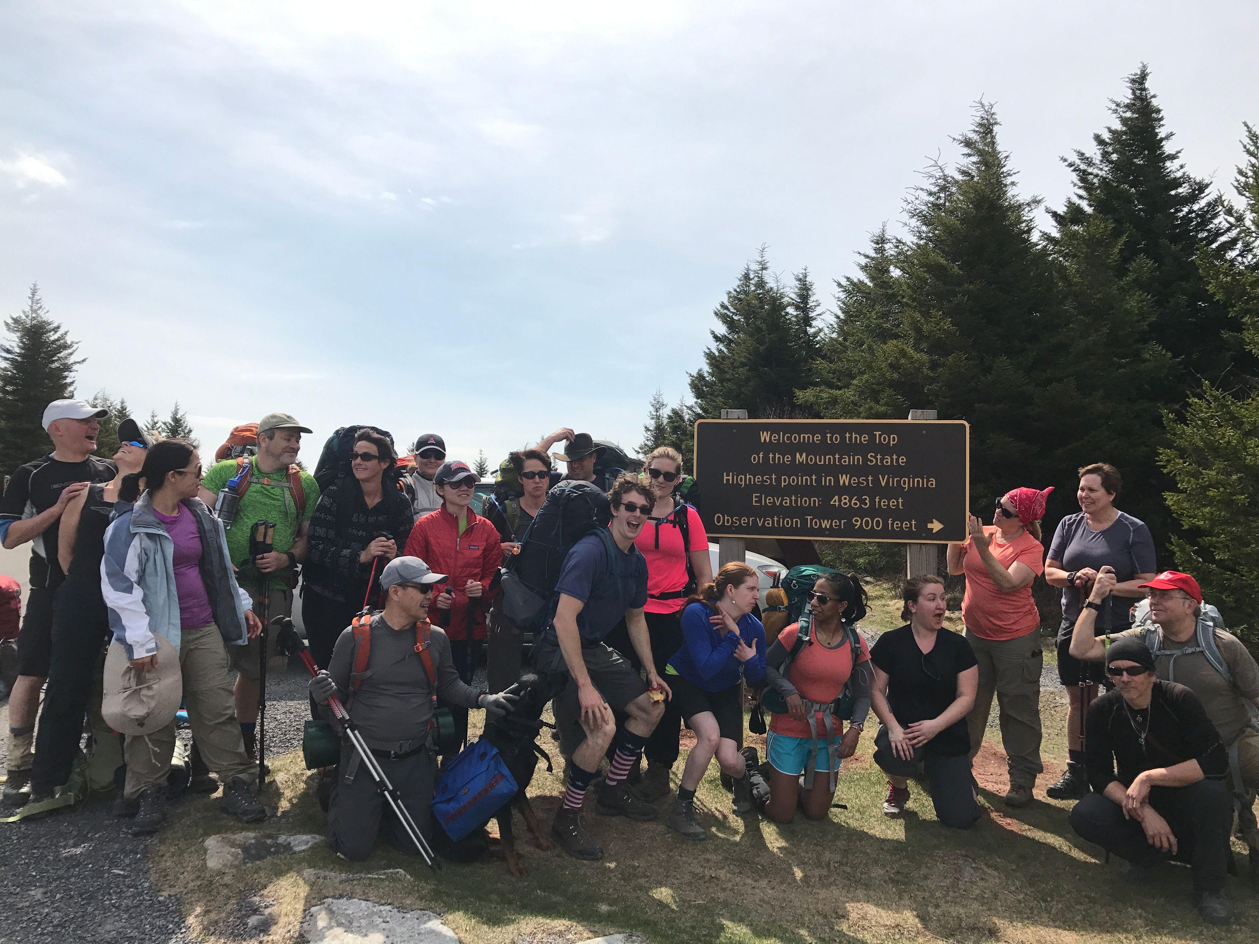 The Washington Backpackers Meetup Group