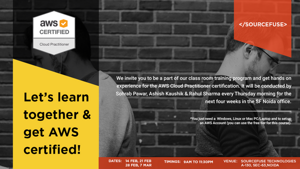 Noida AWS Cloud Practitioner Certification Training (Session 2 of 4