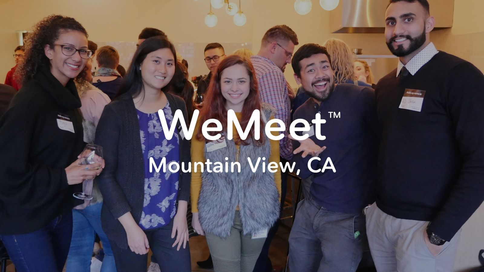 WeMeet Mountain View Networking - Meet New People