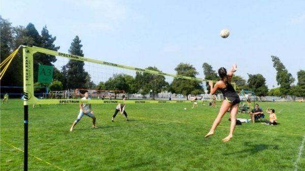 Volley in Tschudi Park - level intermediate