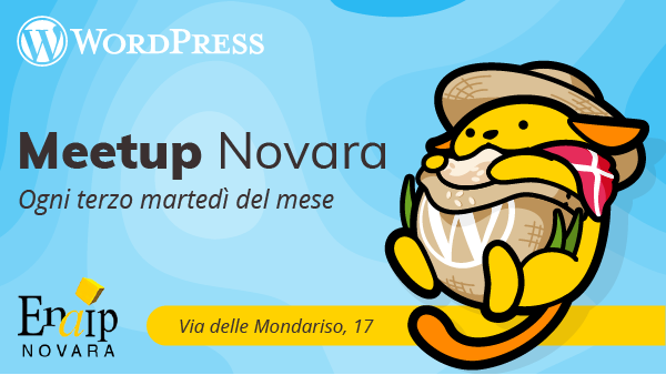 WordPress Meetup Novara