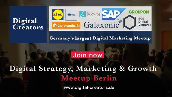 Upcoming Events | Digital Strategy, Marketing & Growth (Berlin, Germany)